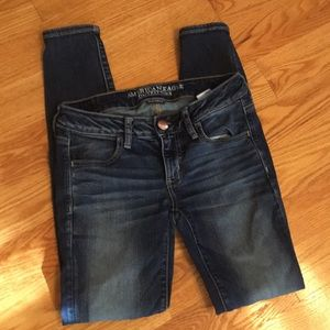 American Eagle Outfitters Super Lowrise Jeggings 4